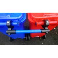 Wheelie bin clamps